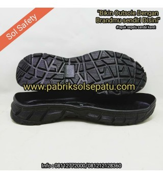 Outsole karet safety