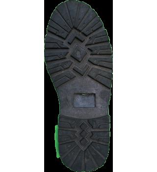 sol alas sepatu sandal karet 32
